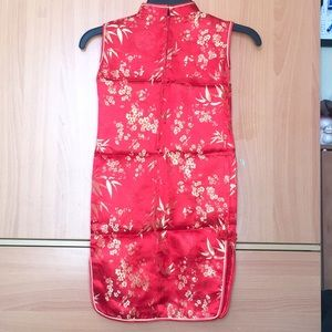 defc7f309028 Dresses | Little Girl 6yo Hot Red Chinese Dress | Poshmark